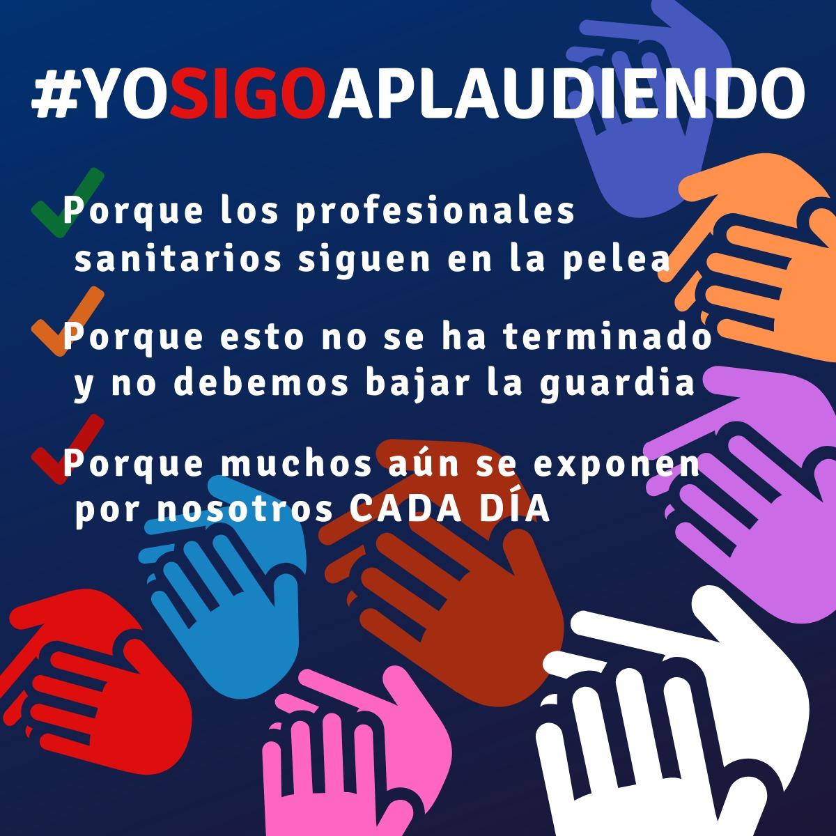 #yosigoaplaudiendo